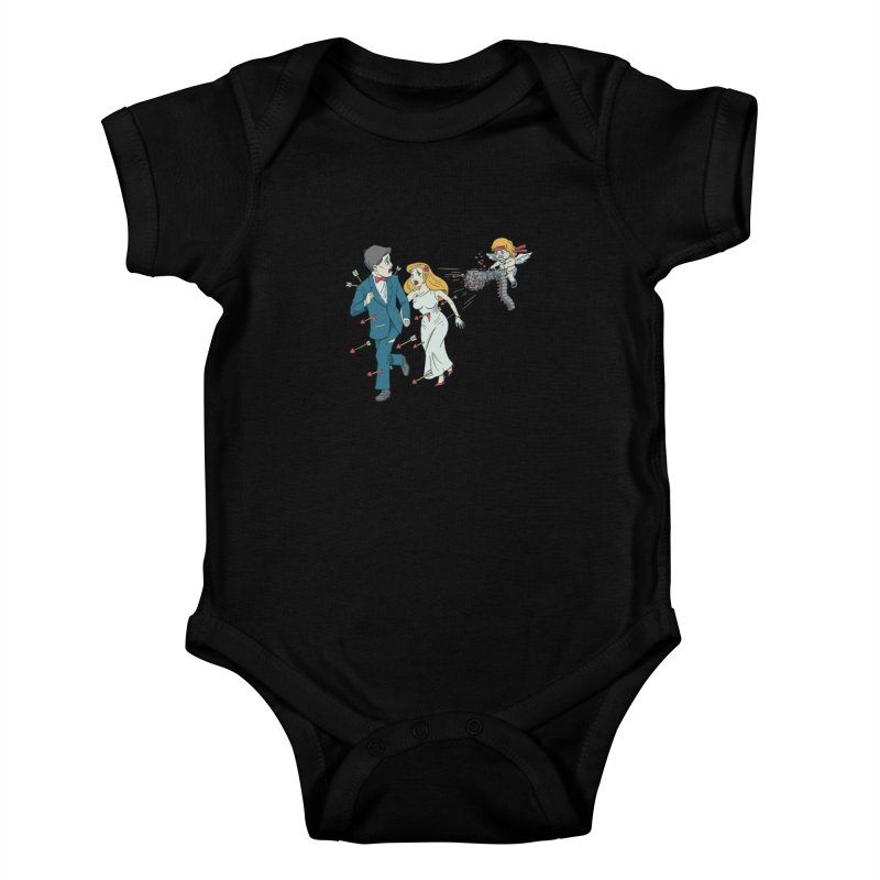 Love Kills Kids Baby Bodysuit by Made With Awesome