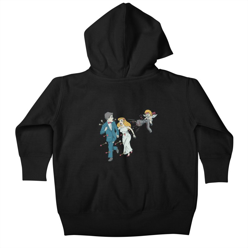 Love Kills Kids Baby Zip-Up Hoody by Made With Awesome