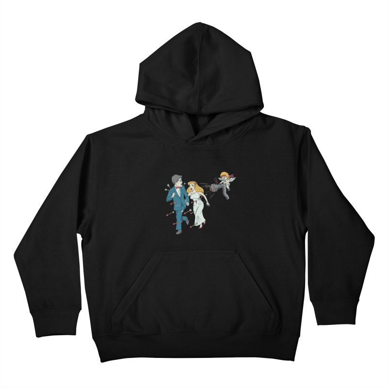 Love Kills Kids Pullover Hoody by Made With Awesome