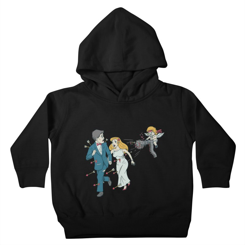 Love Kills Kids Toddler Pullover Hoody by Made With Awesome
