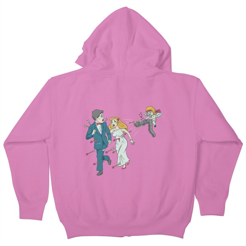 Love Kills Kids Zip-Up Hoody by Made With Awesome