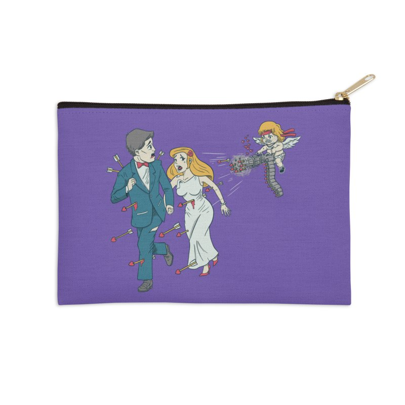 Love Kills Accessories Zip Pouch by Made With Awesome