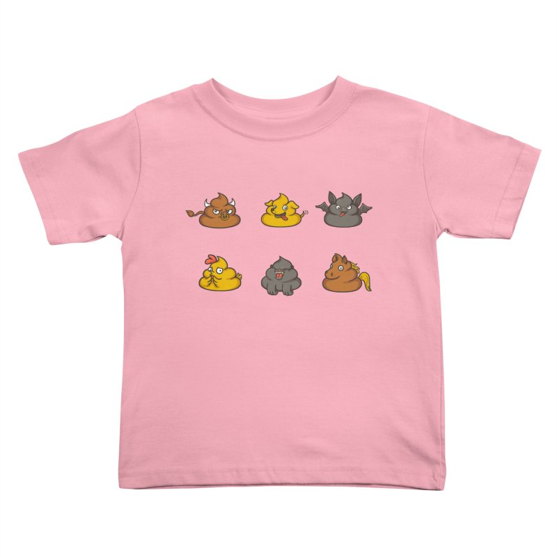 Oh Sh*t Kids Toddler T-Shirt by Made With Awesome