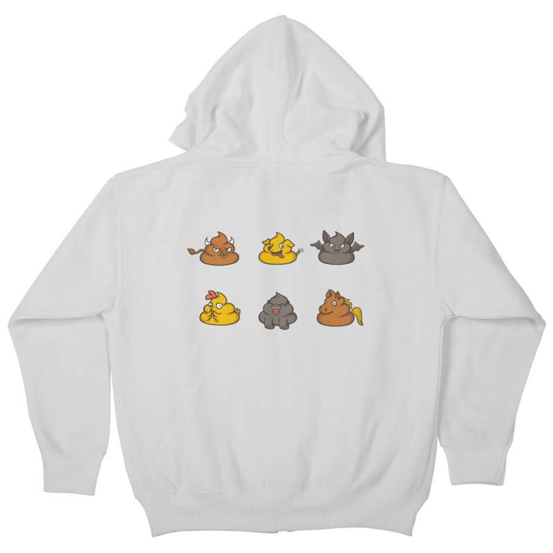 Oh Sh*t Kids Zip-Up Hoody by Made With Awesome