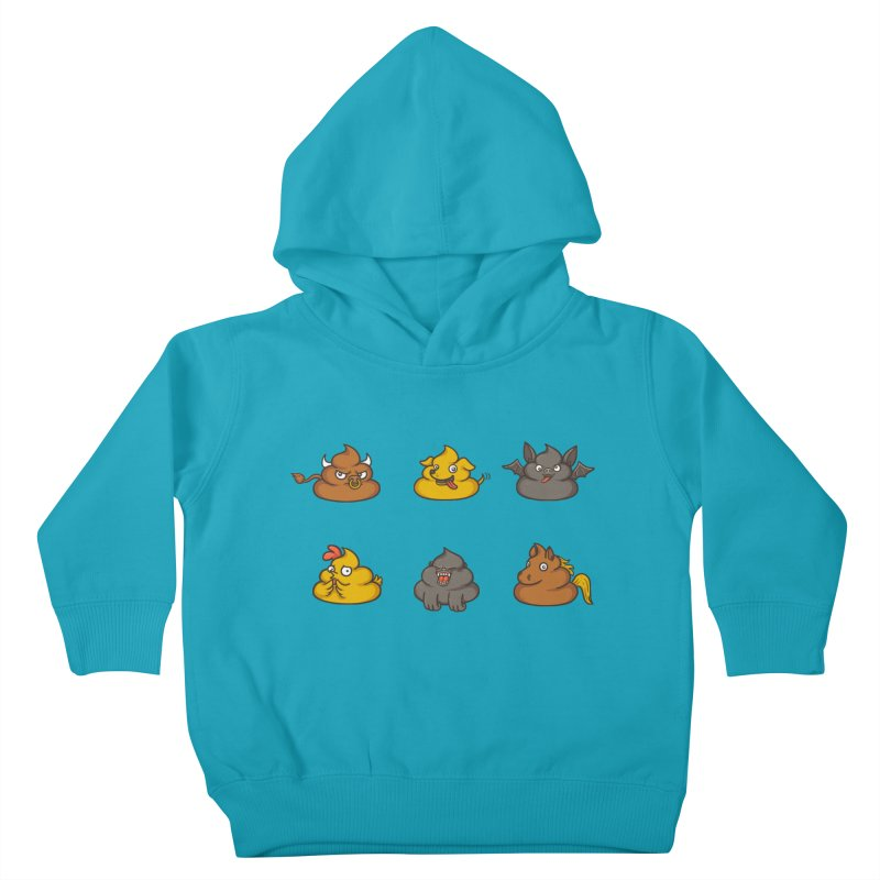 Oh Sh*t Kids Toddler Pullover Hoody by Made With Awesome