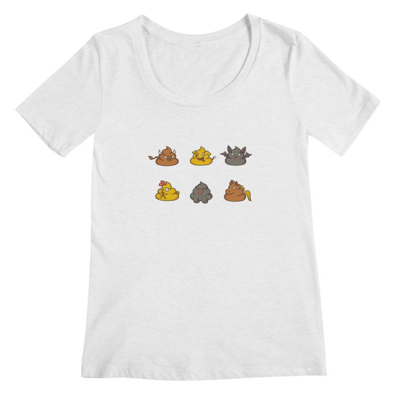 Oh Sh*t Women's Scoopneck by Made With Awesome