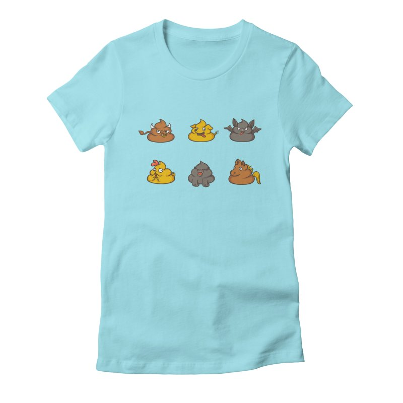 Oh Sh*t Women's Fitted T-Shirt by Made With Awesome