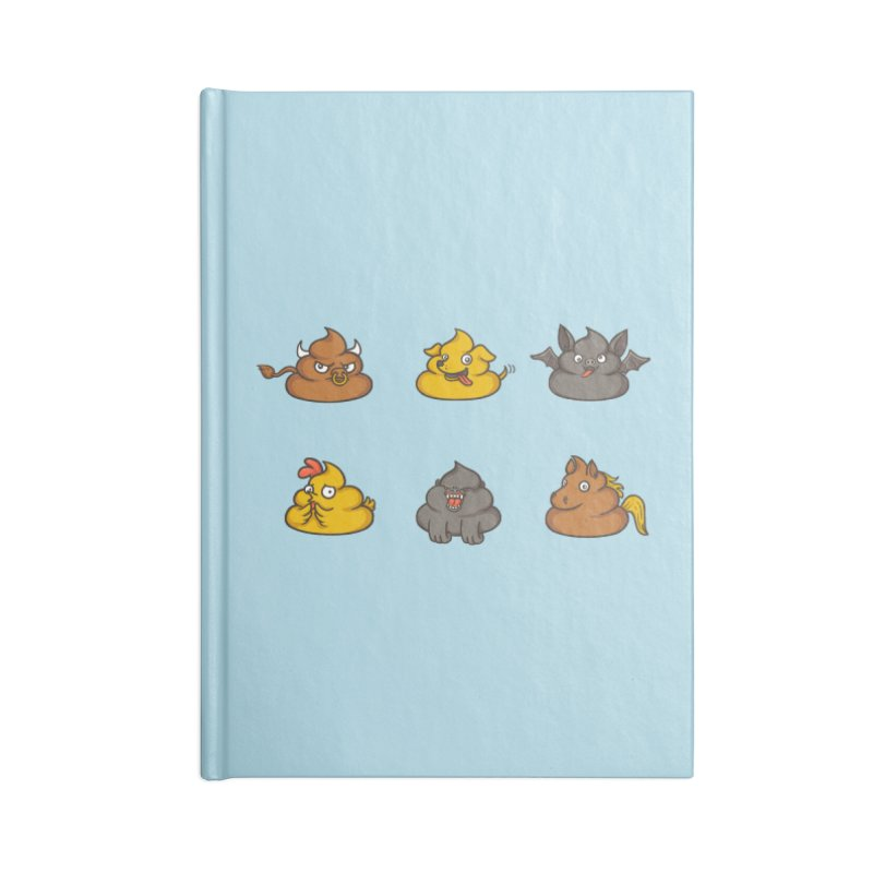 Oh Sh*t Accessories Notebook by Made With Awesome