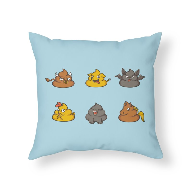 Oh Sh*t Home Throw Pillow by Made With Awesome