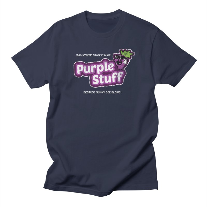 Purple Stuff Women's Unisex T-Shirt by Made With Awesome