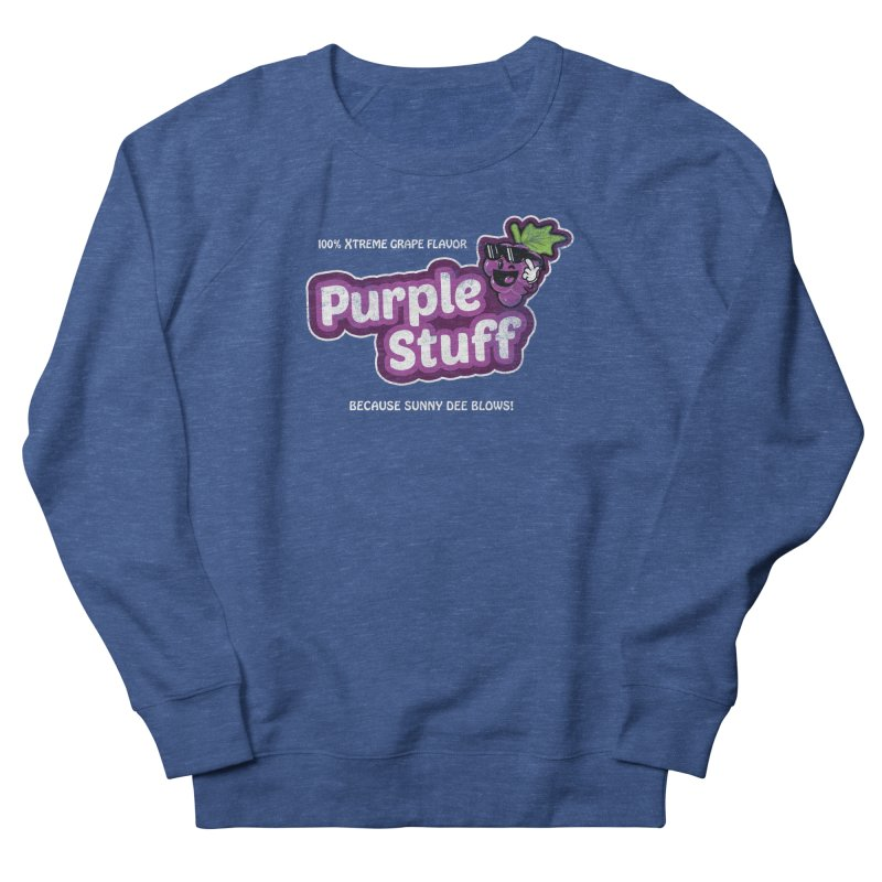 Purple Stuff Women's Sweatshirt by Made With Awesome