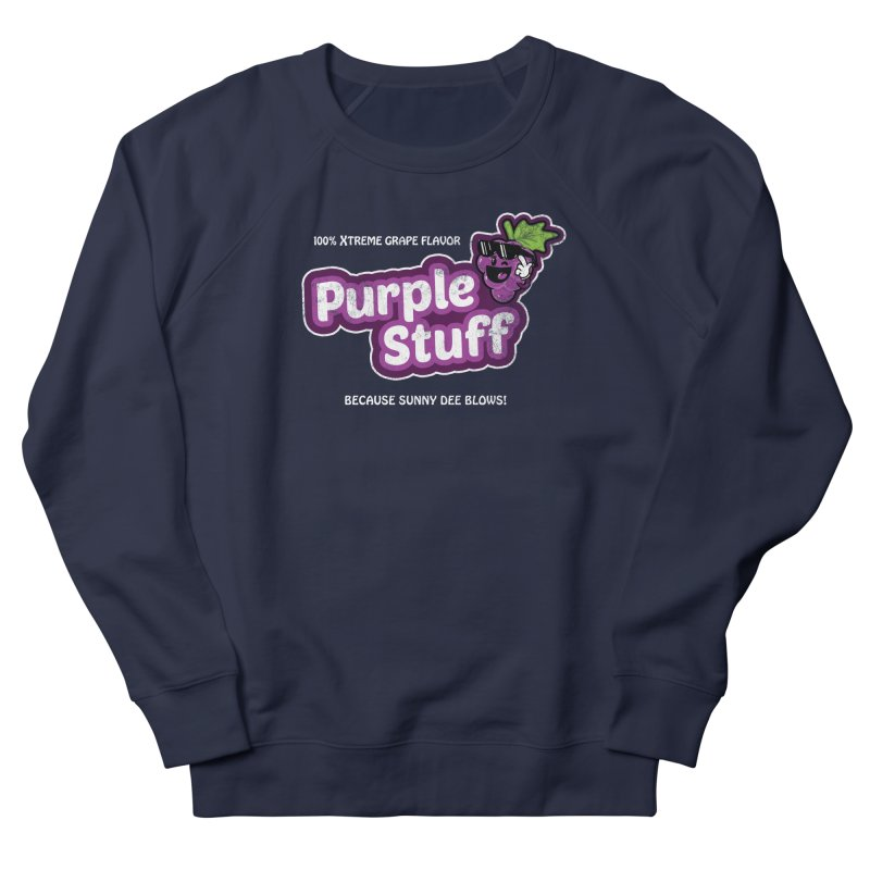 Purple Stuff Men's Sweatshirt by Made With Awesome