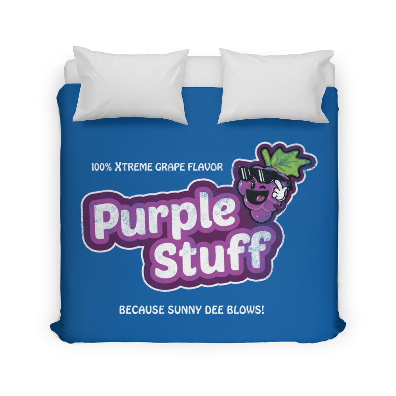 Purple Stuff Home Duvet by Made With Awesome
