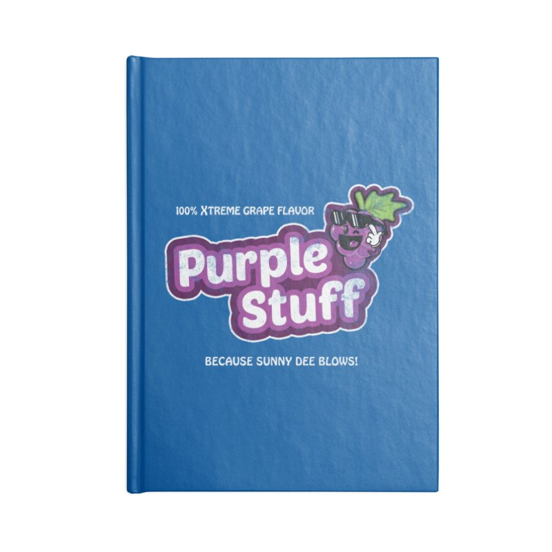 Purple Stuff Accessories Notebook by Made With Awesome