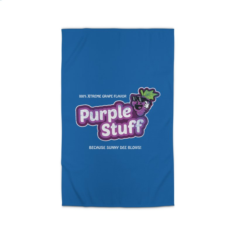 Purple Stuff Home Rug by Made With Awesome