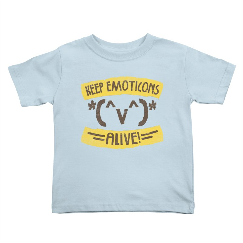 Keyboard Icons Kids Toddler T-Shirt by Made With Awesome