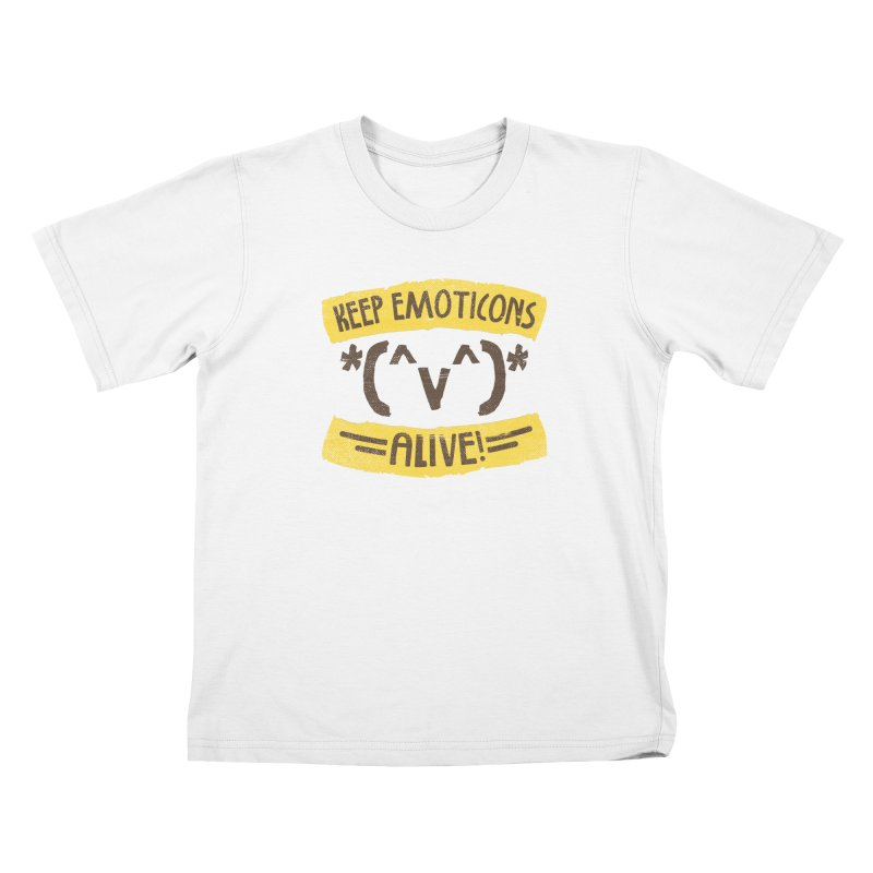 Keyboard Icons Kids T-shirt by Made With Awesome