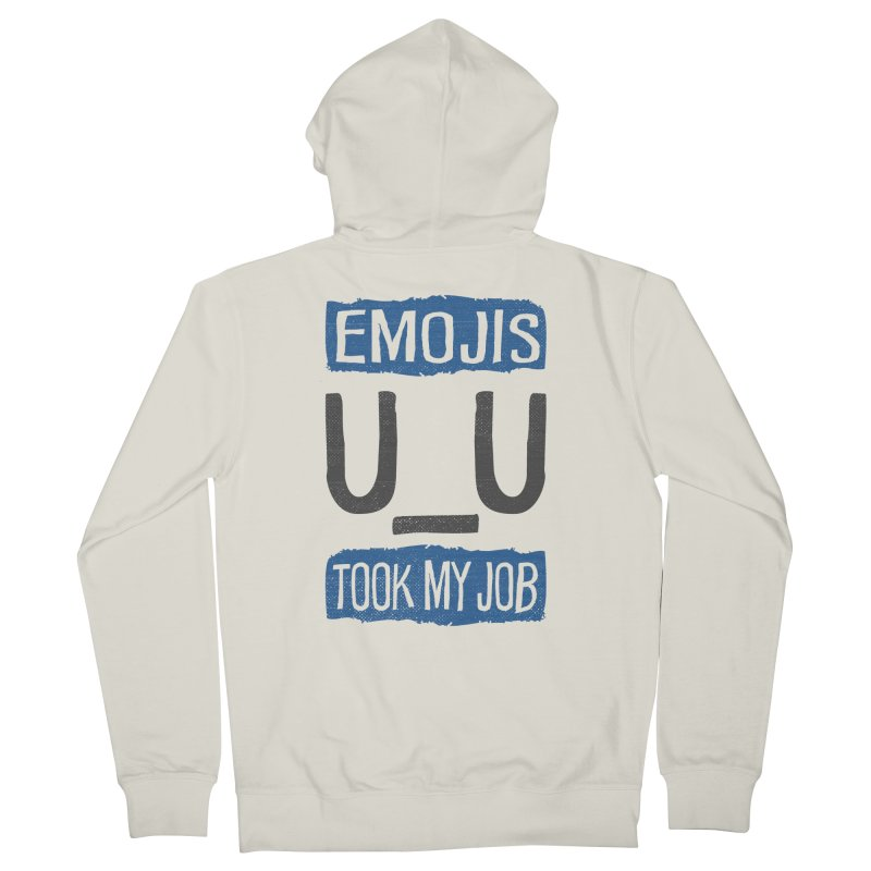 Emo Geez! Men's Zip-Up Hoody by Made With Awesome