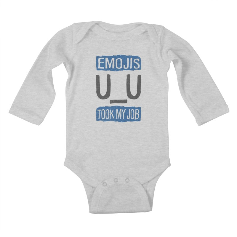 Emo Geez! Kids Baby Longsleeve Bodysuit by Made With Awesome