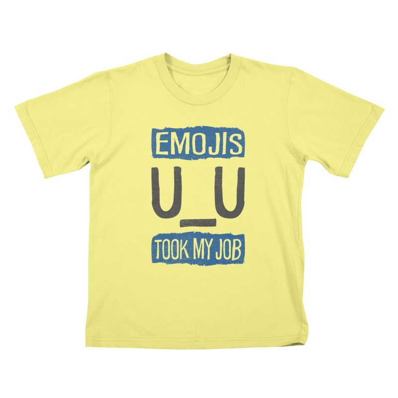 Emo Geez! Kids T-shirt by Made With Awesome