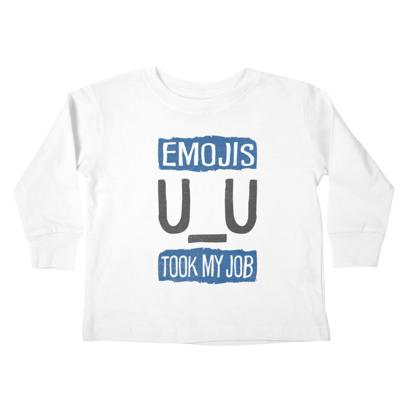 Emo Geez! Kids Toddler Longsleeve T-Shirt by Made With Awesome