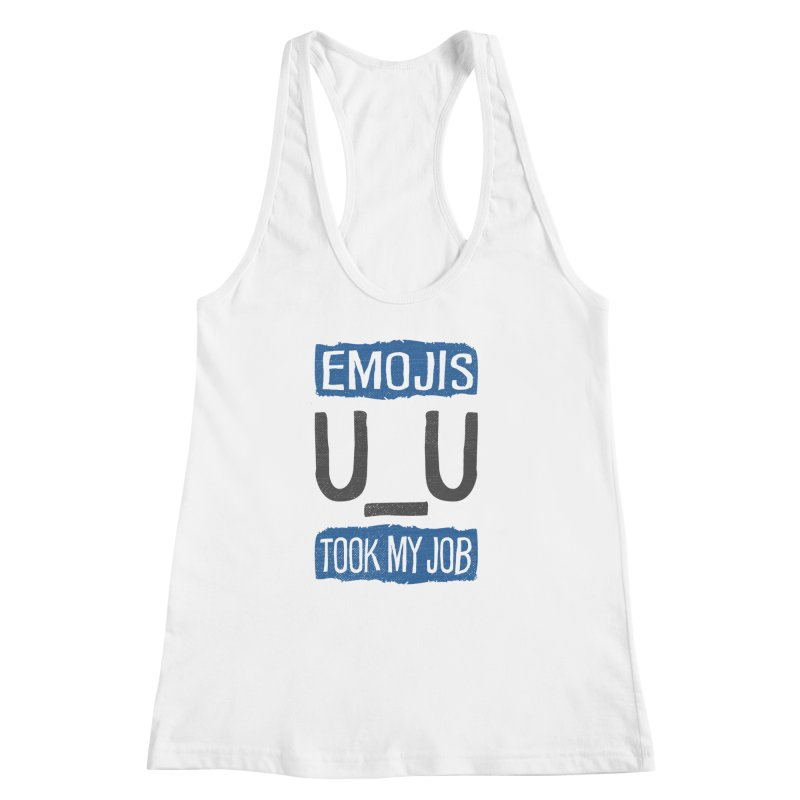 Emo Geez! Women's Racerback Tank by Made With Awesome
