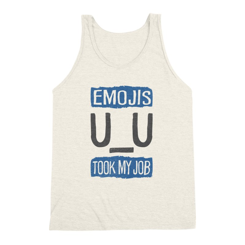 Emo Geez! Men's Triblend Tank by Made With Awesome