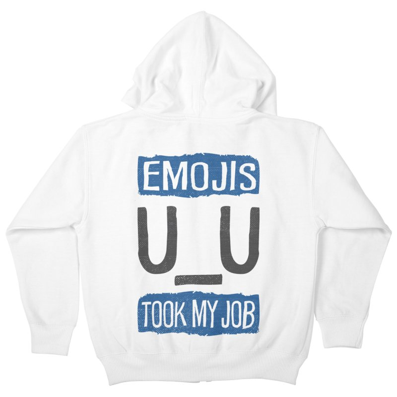 Emo Geez! Kids Zip-Up Hoody by Made With Awesome