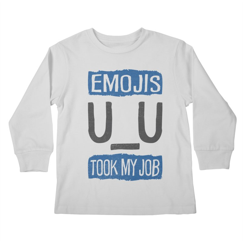 Emo Geez! Kids Longsleeve T-Shirt by Made With Awesome