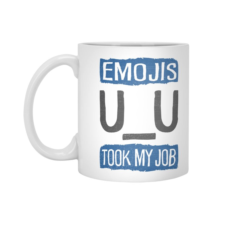Emo Geez! Accessories Mug by Made With Awesome