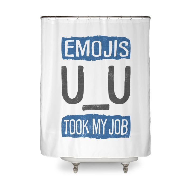 Emo Geez! Home Shower Curtain by Made With Awesome