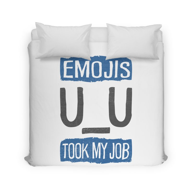 Emo Geez! Home Duvet by Made With Awesome