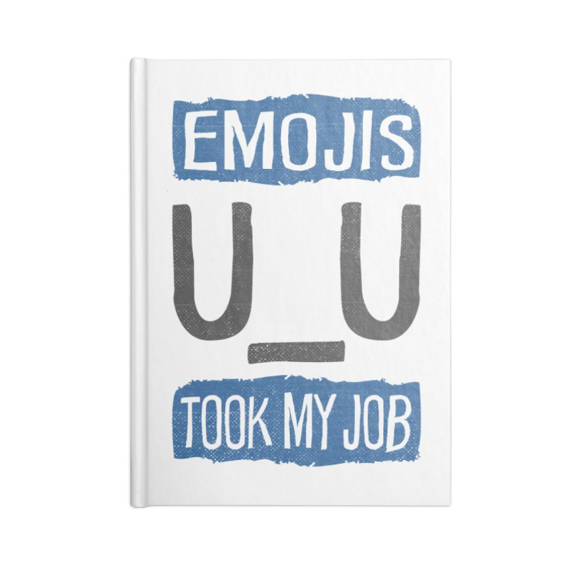 Emo Geez! Accessories Notebook by Made With Awesome