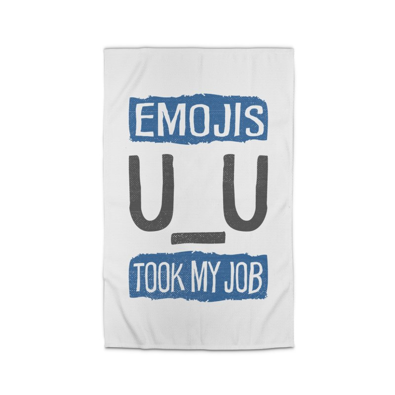 Emo Geez! Home Rug by Made With Awesome
