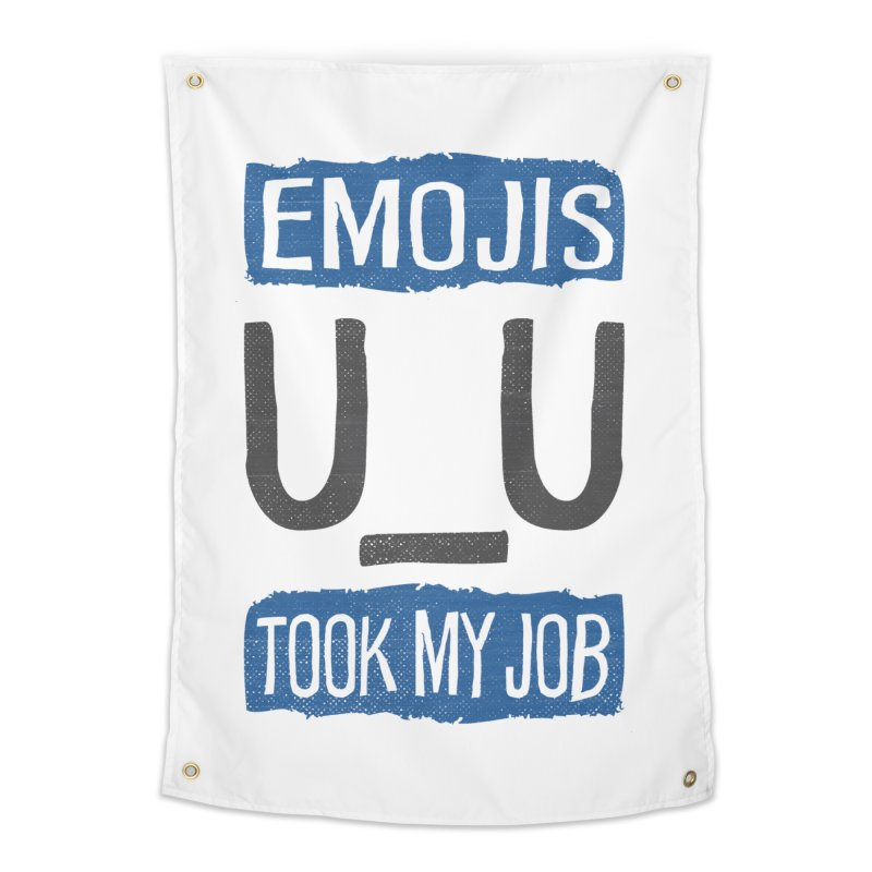 Emo Geez! Home Tapestry by Made With Awesome