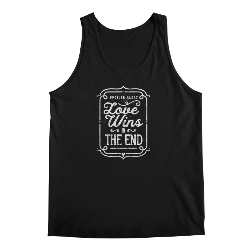 Love Wins Men's Tank by Made With Awesome