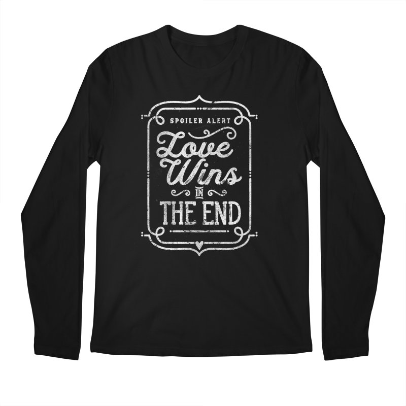 Love Wins Men's Longsleeve T-Shirt by Made With Awesome
