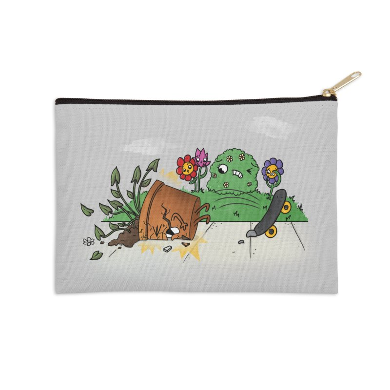 Faceplant Accessories Zip Pouch by Made With Awesome