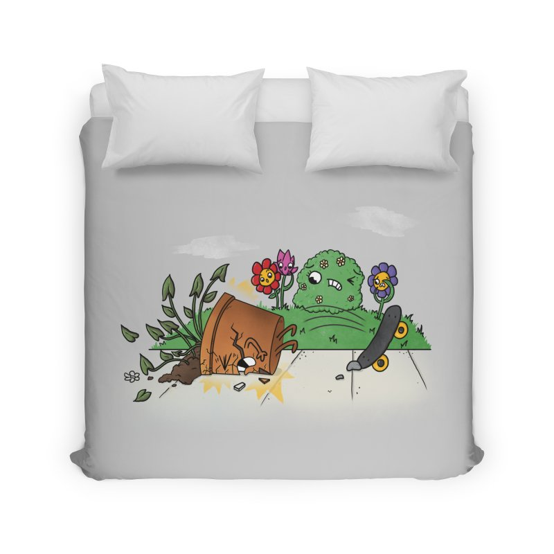 Faceplant Home Duvet by Made With Awesome