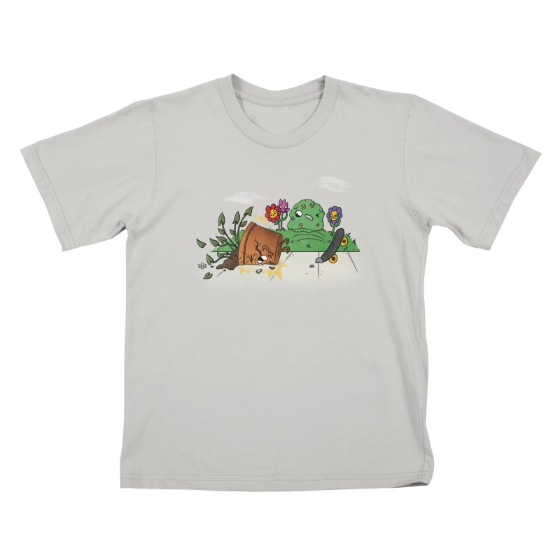 Faceplant Kids T-Shirt by Made With Awesome