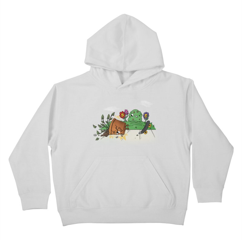 Faceplant Kids Pullover Hoody by Made With Awesome