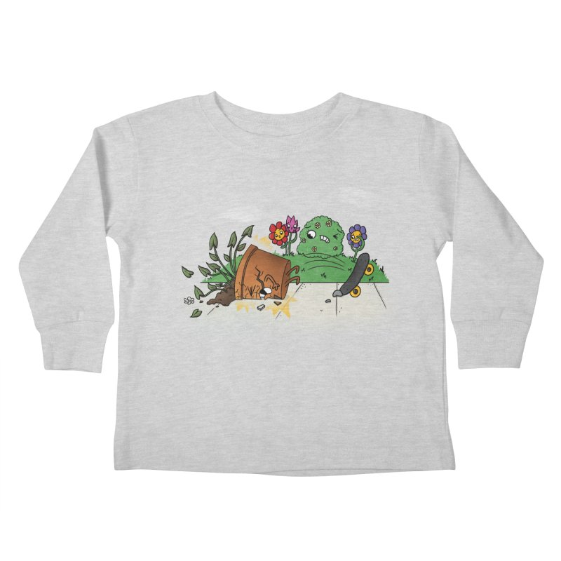 Faceplant Kids Toddler Longsleeve T-Shirt by Made With Awesome