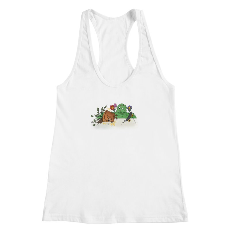 Faceplant Women's Racerback Tank by Made With Awesome