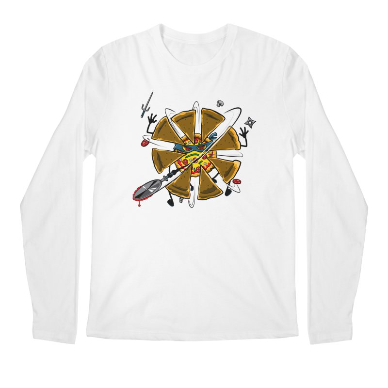 Have a Slice Men's Longsleeve T-Shirt by Made With Awesome