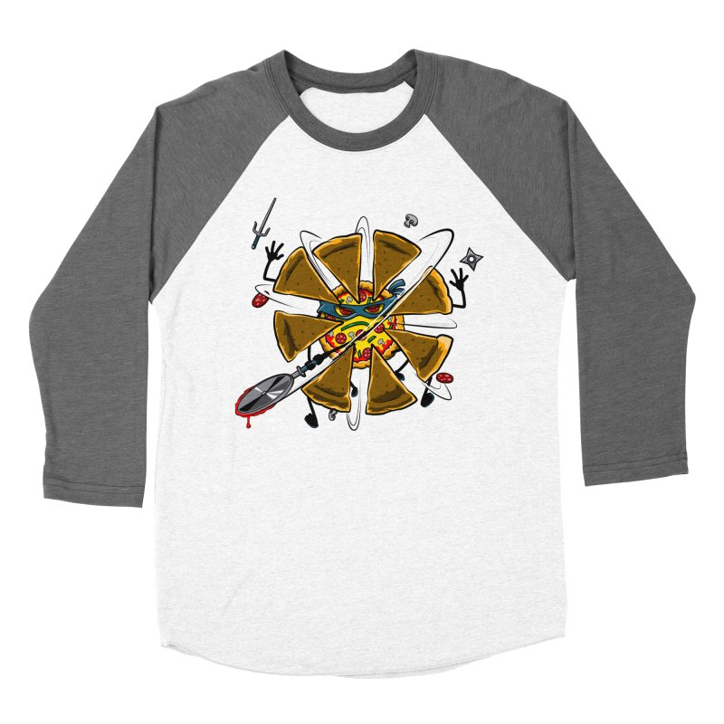 Have a Slice Men's Baseball Triblend T-Shirt by Made With Awesome