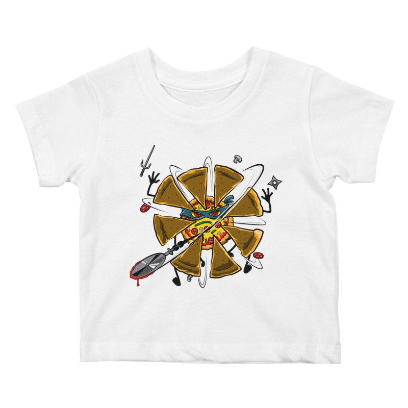 Have a Slice Kids Baby T-Shirt by Made With Awesome