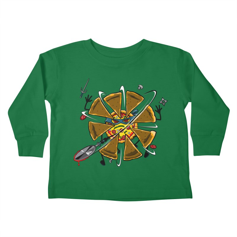 Have a Slice Kids Toddler Longsleeve T-Shirt by Made With Awesome