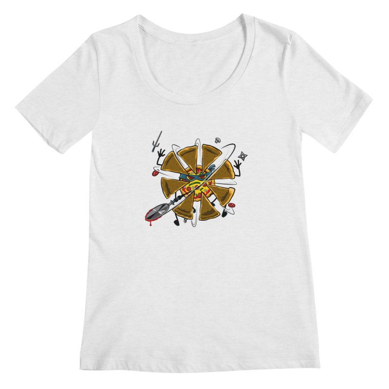 Have a Slice Women's Scoopneck by Made With Awesome