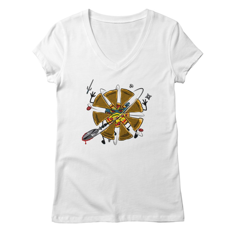Have a Slice Women's V-Neck by Made With Awesome