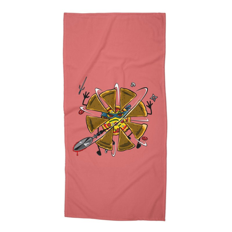 Have a Slice Accessories Beach Towel by Made With Awesome